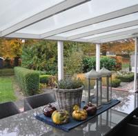 Polycarbonate Veranda 2.5m