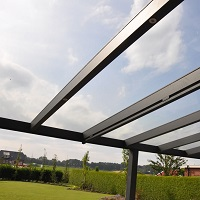Glass Veranda 2.5m