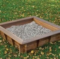 Hardwood Sandpit