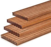 Hardwood Decking Boards 25mm