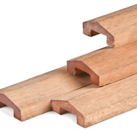 Hardwood Fence Cap