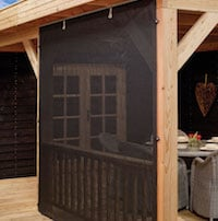 See Through Wall For Gazebos or Log Cabins 3m