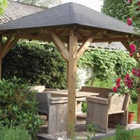 Tourist Open Gazebo 3.4x3.4m
