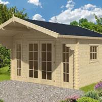 Inglund Log Cabin 3.8x3.2m