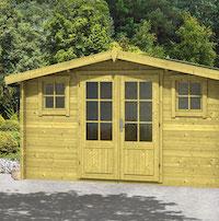 Juha Log Cabin 4.0x3.0m