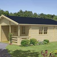 Kay Log Cabin 5.95 x 8.0m