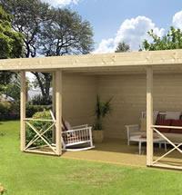 Konstantin Gazebo Log Cabin 5 x 3.4m