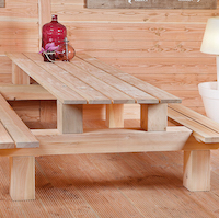 Picnic Bench Larch