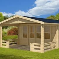 Ipswich Log Cabin 4.4 x 4.4m