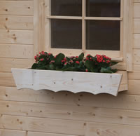 Log Cabin Planter