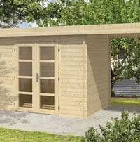 Medium Modern Log Cabin 3x2m