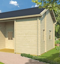 Menorca 70mm Log Cabin 5.1 x 7.0m