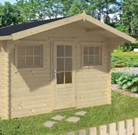Mika Log Cabin 3.8x3m