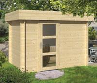 Novalie Modern Log Cabin 3x2m