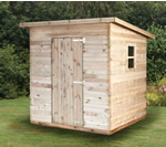 Olaf Pent Shed - Pressure Treated