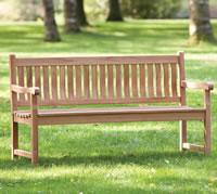 Garden Park Bench 110cm