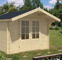 Perlund Log Cabin 3x3m