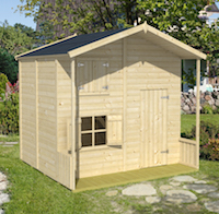 Assepoester Playhouse 2.2 x 2.2m