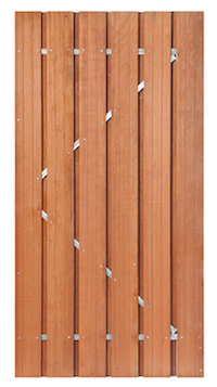 Privacy Hardwood Garden Gate RUMMAGE