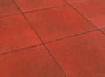 Outdoor Rubber Play Tile - Red