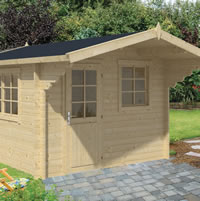 Riho Log Cabin 3.2x3.2m