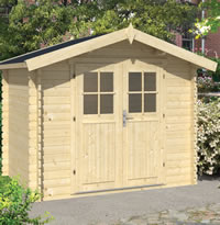 Robert Log Cabin 2.6x2m