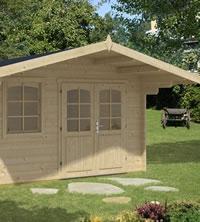 Rosenheim Log Cabin 3.8x3.8m