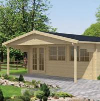 Rune Log Cabin 5.95x5.95m
