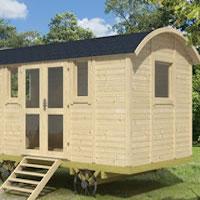 Shepherd Hut - Deluxe