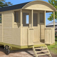 Shepherd Hut - Gypsy Caravan