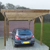 Single/Lean To Carport 3.0 x 5.0m
