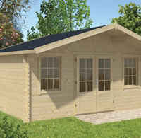 Skyler Log Cabin 5x3.2m