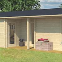 Slane 70mm Log Cabin 14.00 x 4.90m