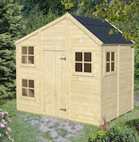 Sleeping Beauty Playhouse 2.4 x 1.67m