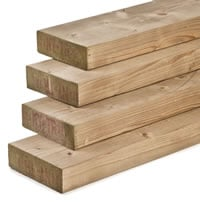 Eased Corner Timber 195mm