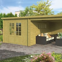 Svend Log Cabin 5.98x4.0m