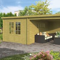 Svend Log Cabin 5.98x4.0m