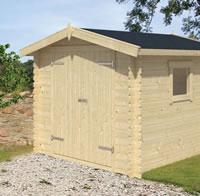 Valery Log Cabin 2.45x2.45m
