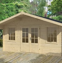 Viggo Log Cabin 5x3.8m