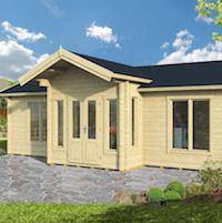 William Log Cabin 8.50 x 5.90m