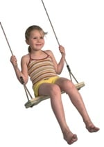 Wooden Swing - Play