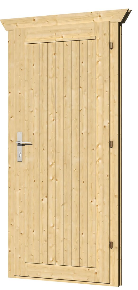 Doors for Log Cabins up to 45mm