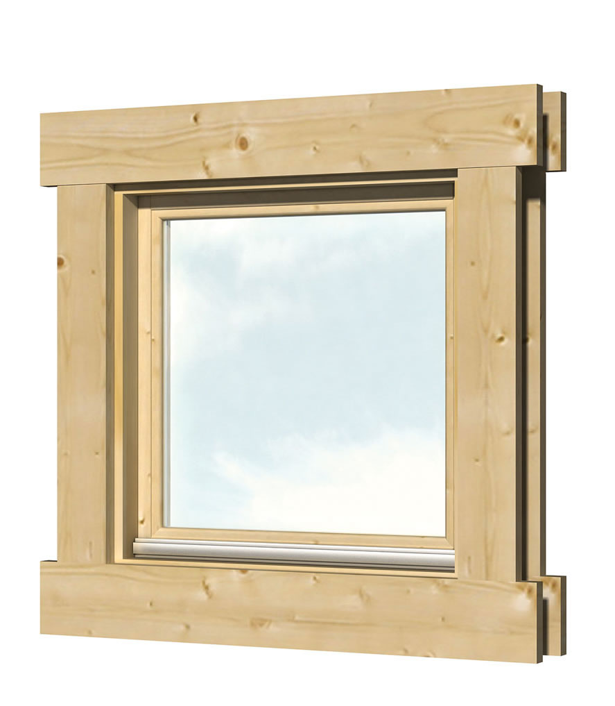 Windows for Log Cabins - Double Glazed
