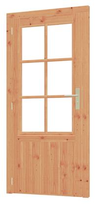 Larch Doors for Garden Buildings.