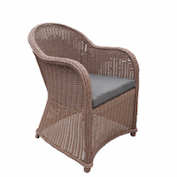 Curved Deluxe Rattan Chair Range