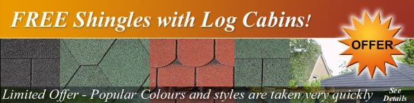 Free Shingles with log cabins