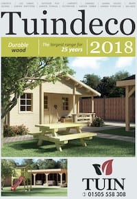 Tuin Log Cabins Brochure 2018