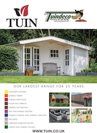 Tuin Log Cabins Brochure 2017